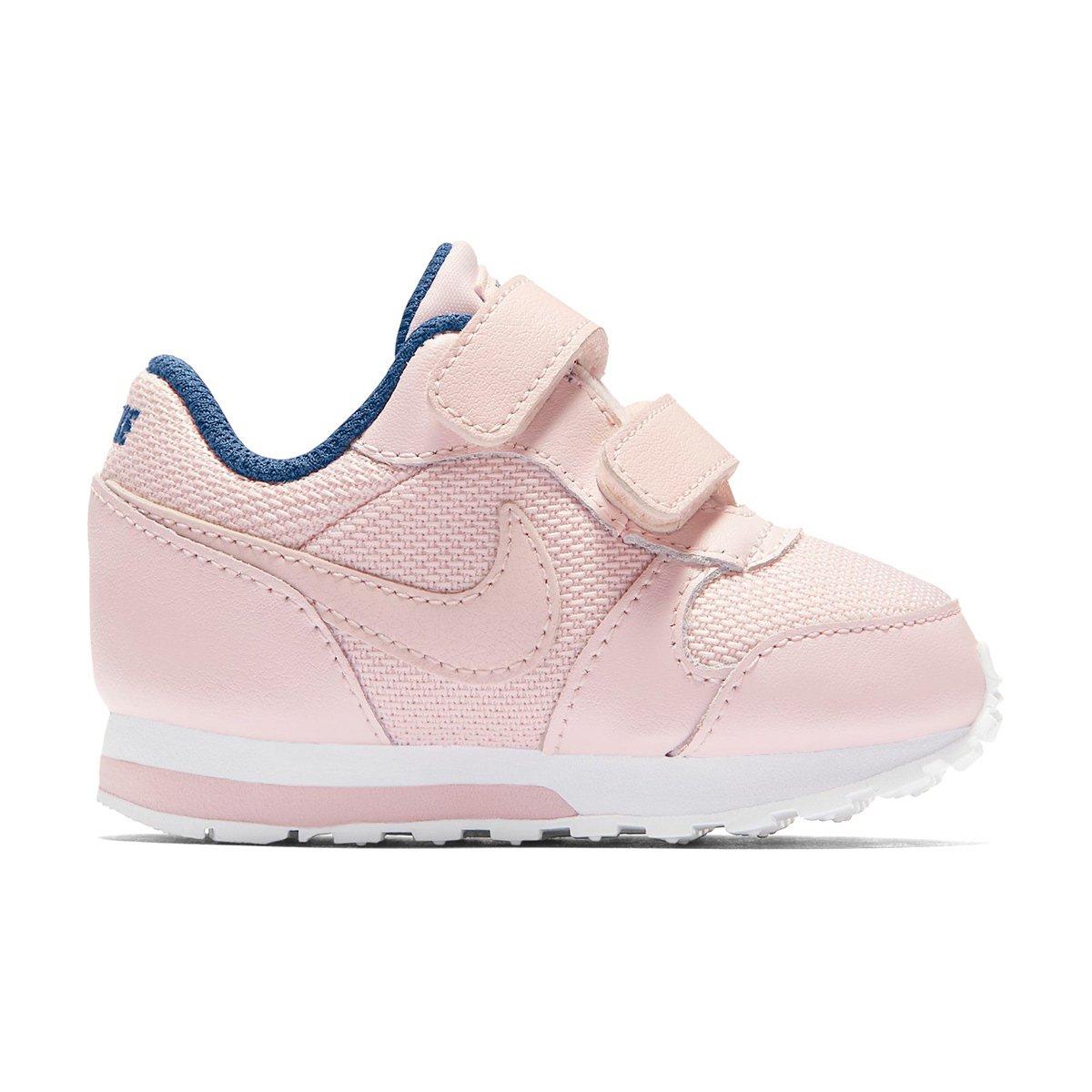 5c9531a5331ae Tênis Infantil Nike Md Runner 2 - Rosa e Azul | Netshoes