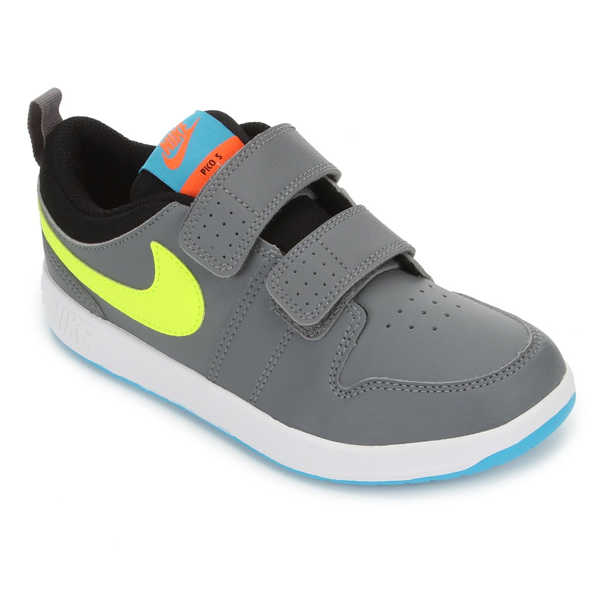 Infidelidad lluvia abajo  Tênis Infantil Nike Pico 5 PSV - Cinza | Netshoes