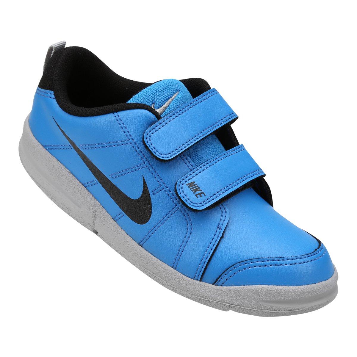 6d332fbdc0e Tênis Infantil Nike Pico Lt - Azul e Cinza - Compre Agora