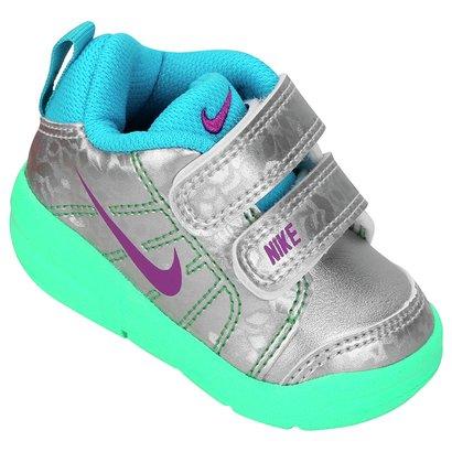Tênis Infantil Nike Pico Lt - Prata e Verde - Compre Agora  e2c0c675c88ba