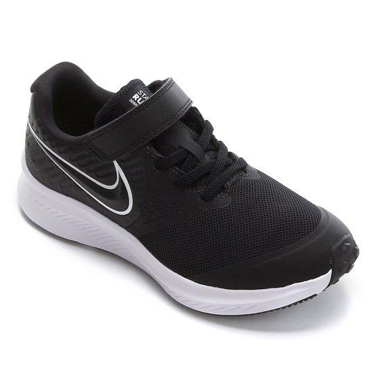 sorpresa Contaminar Pronunciar  Tênis Infantil Nike Star Runner 2 Psv Masculino - Preto e Branco   Netshoes