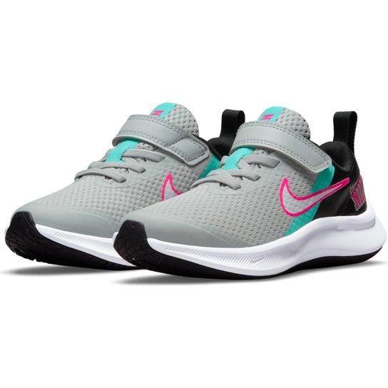 Tênis Infantil Nike Star Runner 3 Se Gpv Feminino - Cinza+Branco