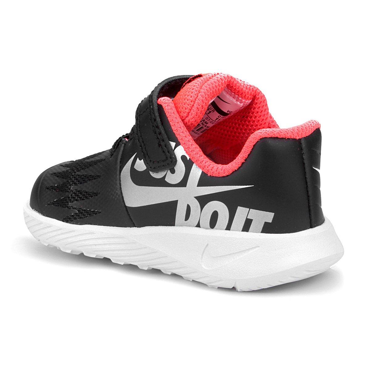 Tênis Infantil Nike Star Runner Masculino - Preto e Prata - Compre ... af82551944960