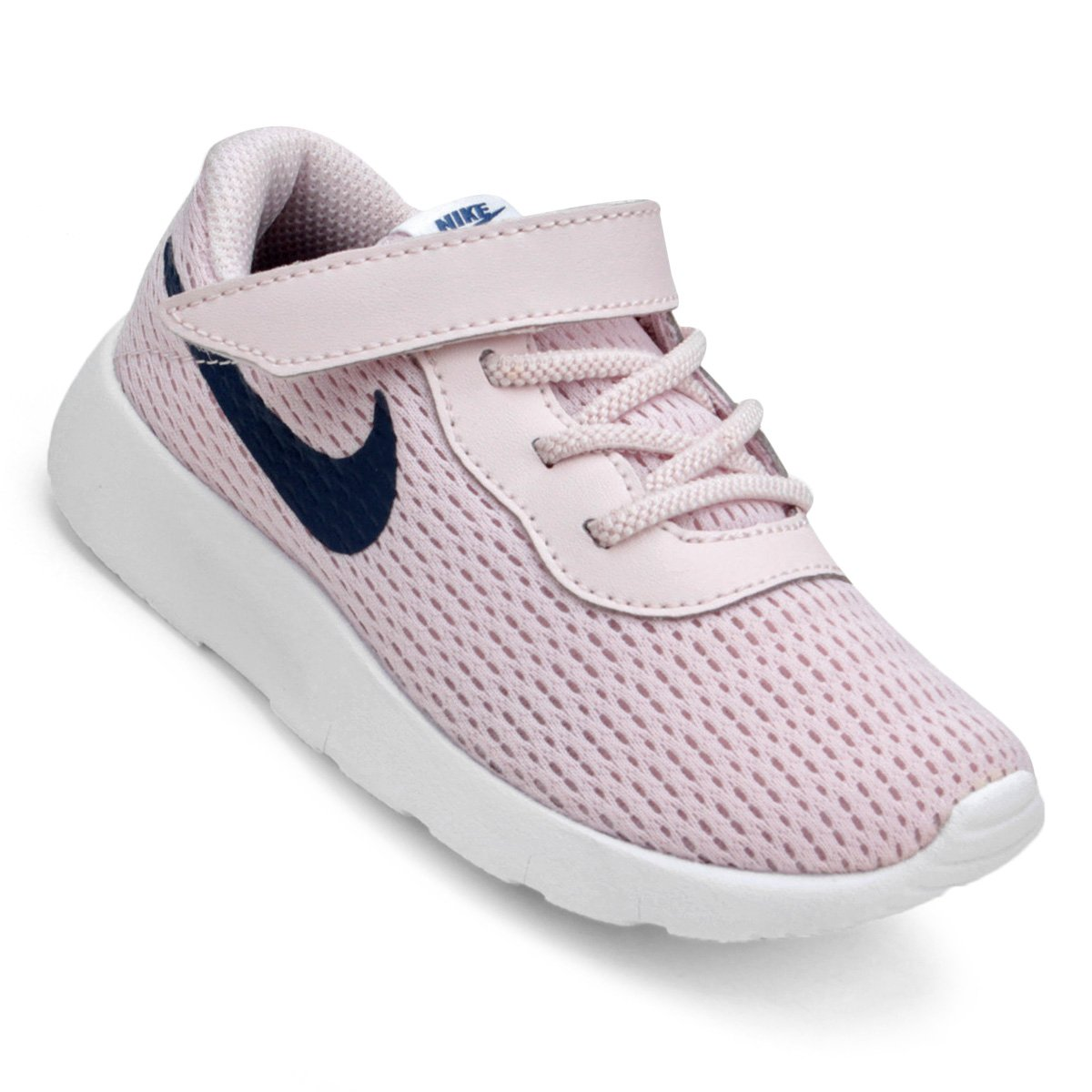 7b99b1df11f Tênis Infantil Nike Tanjun Feminino - Rosa Claro - Compre Agora ...