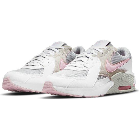 Tênis Juvenil Nike Air Max Excee - Branco+Cinza