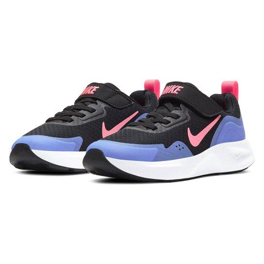 Tênis Juvenil Nike Wearallday BP Masculino - Preto
