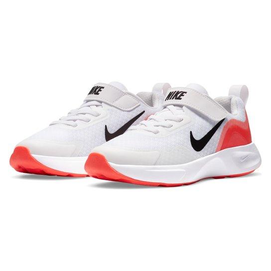 Tênis Juvenil Nike Wearallday BP Masculino - Branco+Preto