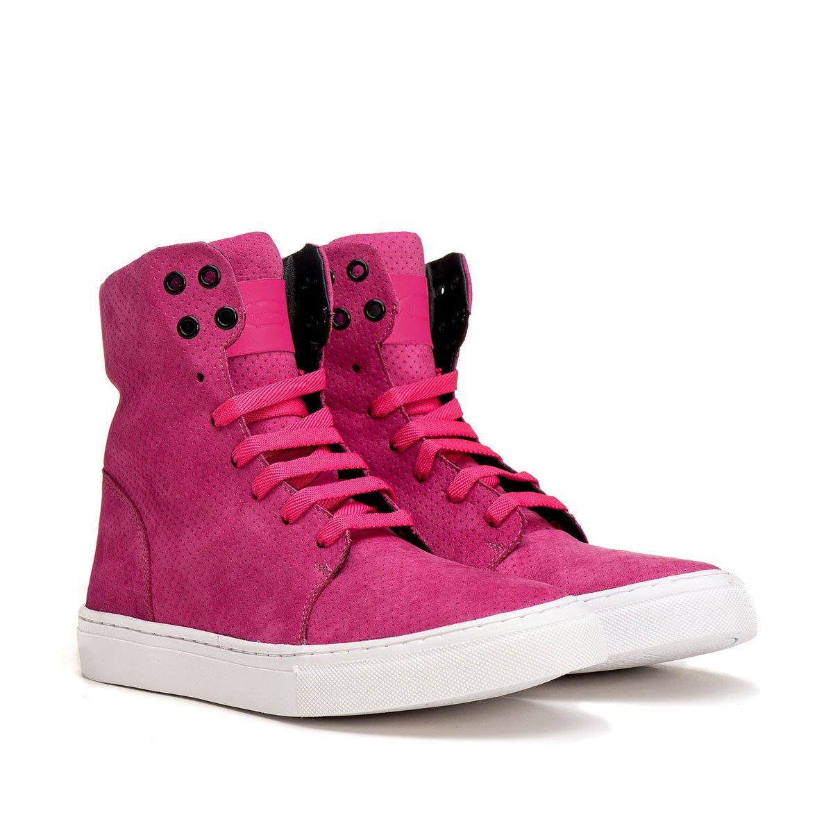 em Style K3 Feminino Fitness Fitness Pink Feminino Couro em K3 Style Tênis Tênis vqRCqnF