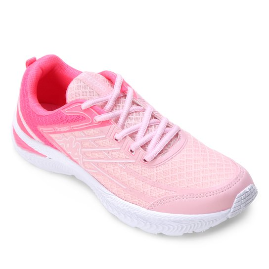 Tênis Kappa Flex Feminino - Pink+Rosa
