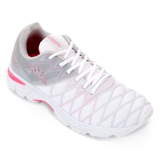 Tênis Kappa Impact 2 Feminino - Cinza+Pink