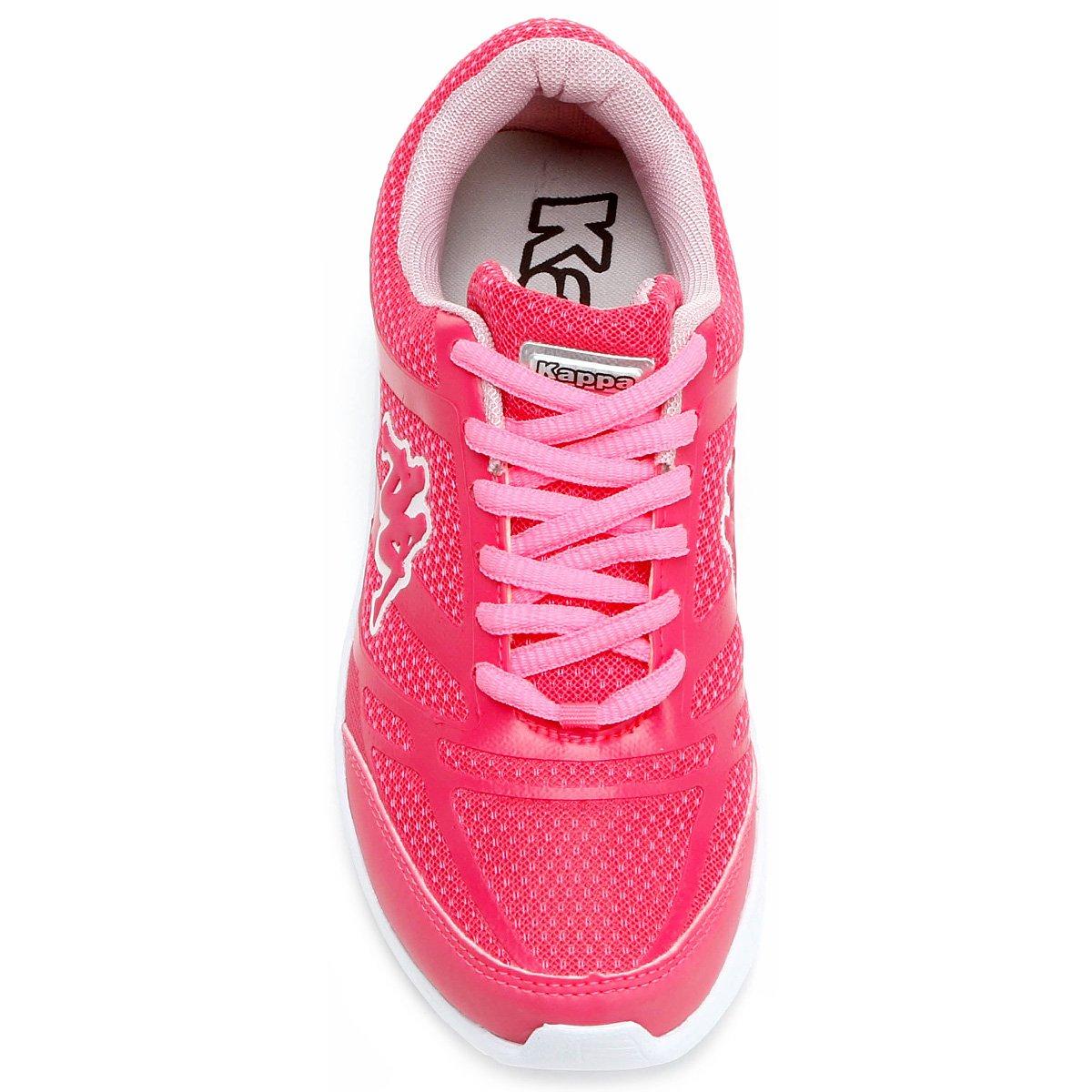 e Tênis Kappa Pink Vêneto Kappa Tênis Vêneto Rosa Feminino COCFU4x