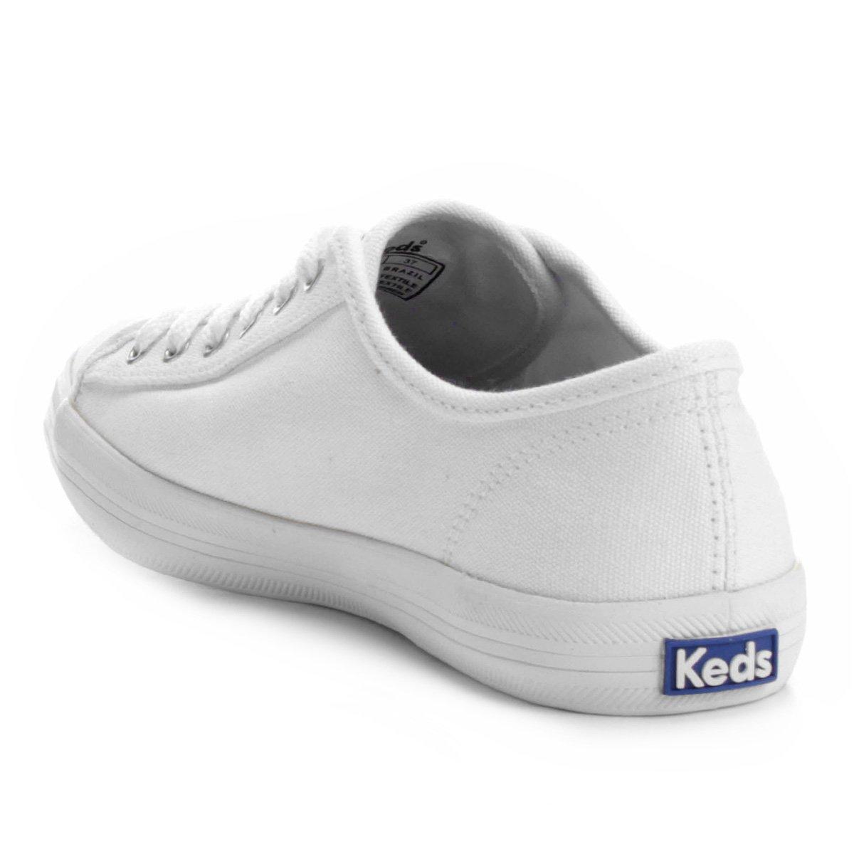 Keds Tênis Kickstart Kickstart Tênis Canvas Canvas Branco Kickstart Feminino Keds Tênis Feminino Branco Keds nxUz8qZpwx