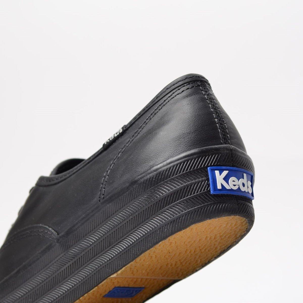 Preto Tênis Keds Triple Tênis KD1033001 Keds Leather YwOYqvH0x