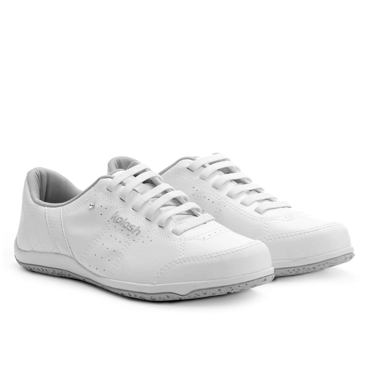 2bca9023cc7 Tênis kolosh matelassê feminino branco compre agora netshoes jpg 544x544 Tenis  feminino kolosh