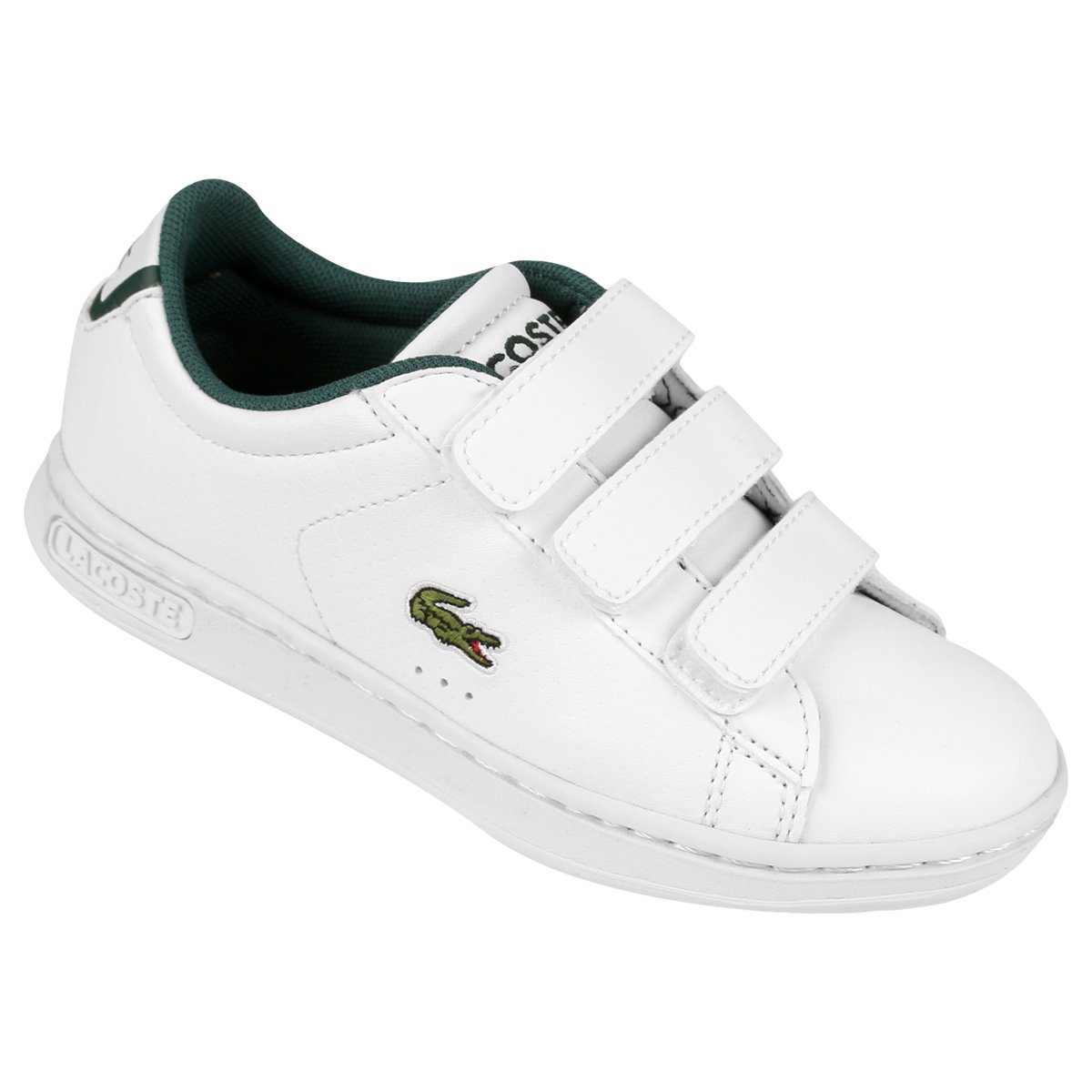 dbfca28dc1412 Tênis Lacoste Carnaby Evo Rei Infantil - Compre Agora   Netshoes