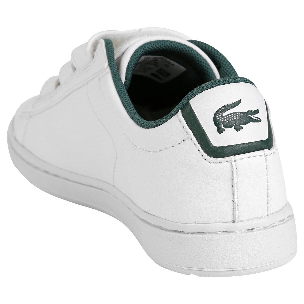 f24282559aaf5 Tênis Lacoste Carnaby Evo Rei Infantil - Compre Agora   Netshoes