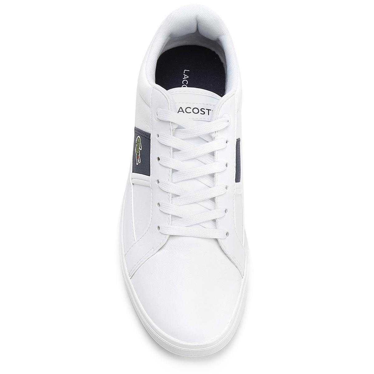 8d8fe948e17c6 Tênis Lacoste Europa Lcr3 - Branco - Compre Agora   Netshoes