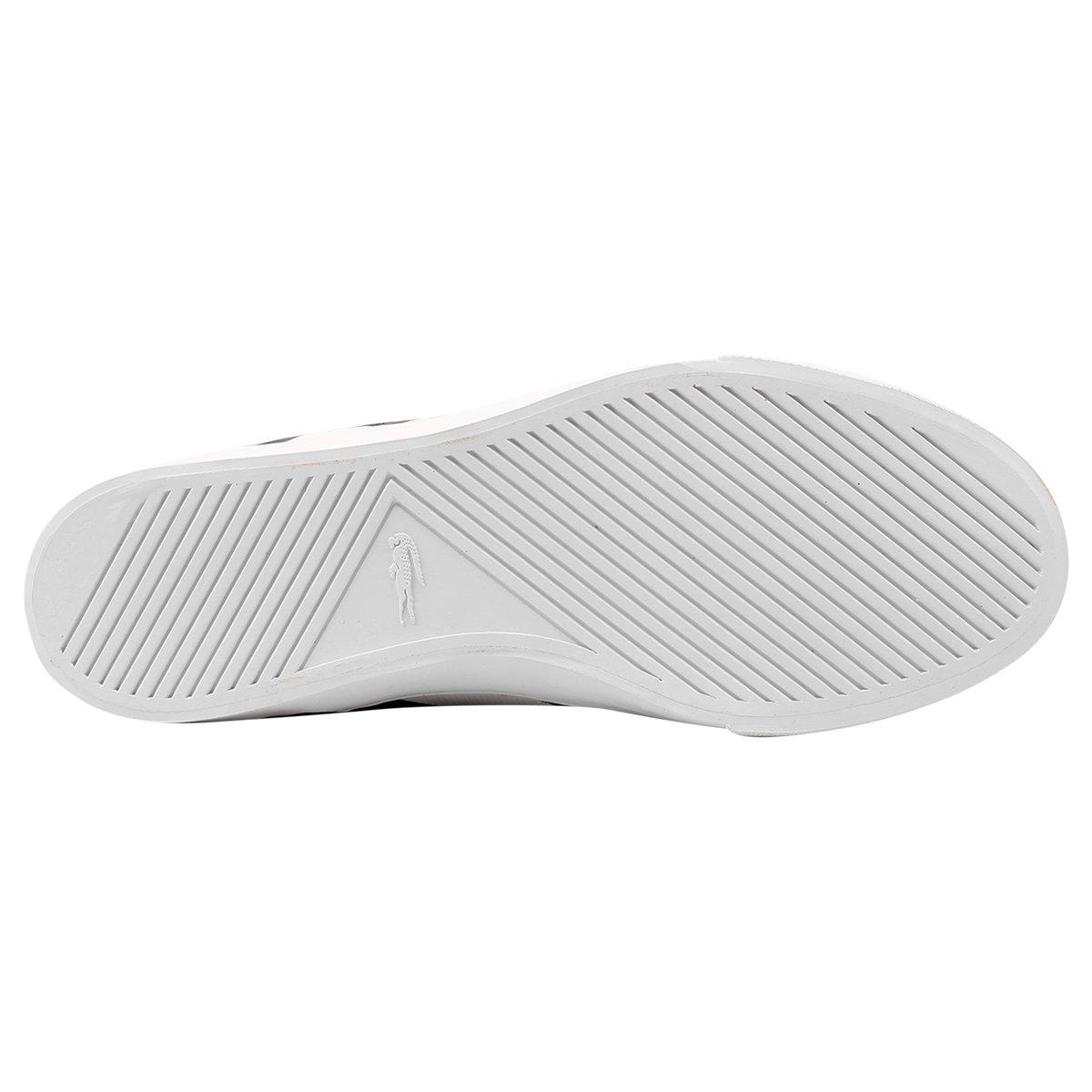 Tênis Lacoste Fairlead Rei - Marinho - Compre Agora   Netshoes 49b6f50559