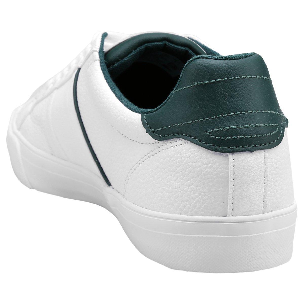 Tênis Lacoste Fairlead Rei - Branco - Compre Agora   Netshoes 23f069bc83