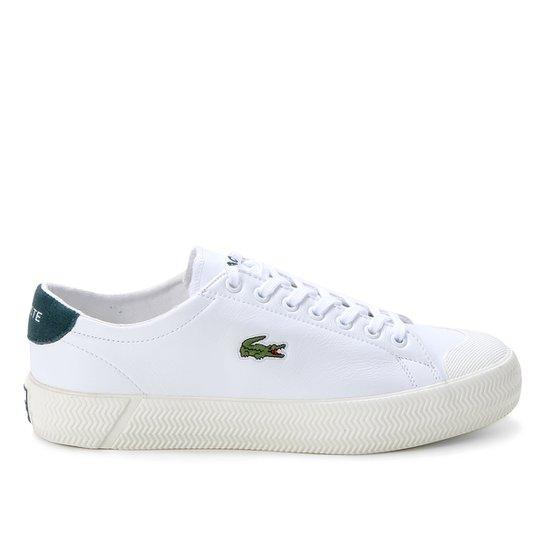 Tênis Lacoste Gripshot Masculino - Branco+Verde