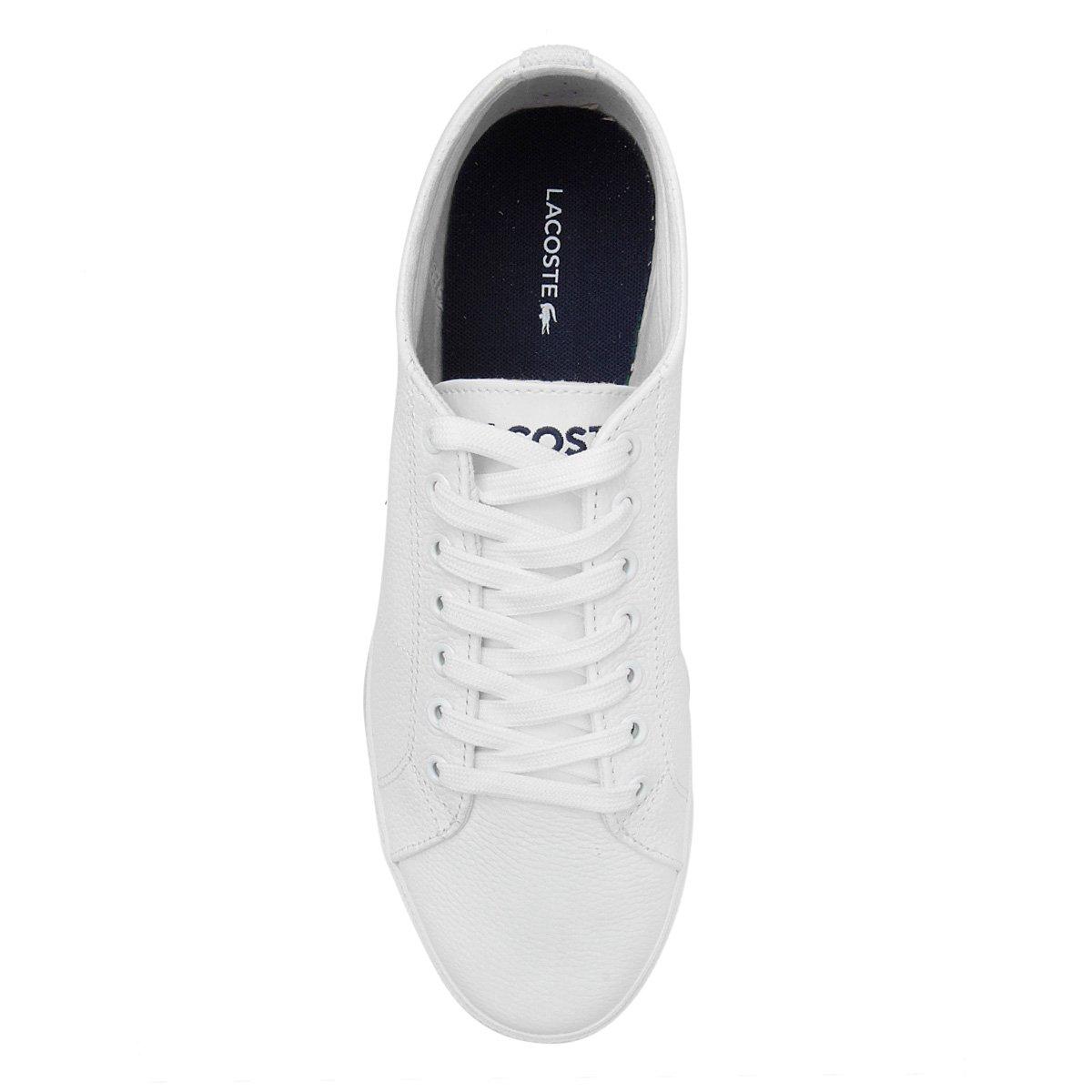 Tênis Lacoste Marcel Masculino - Branco - Compre Agora   Netshoes 216d085639