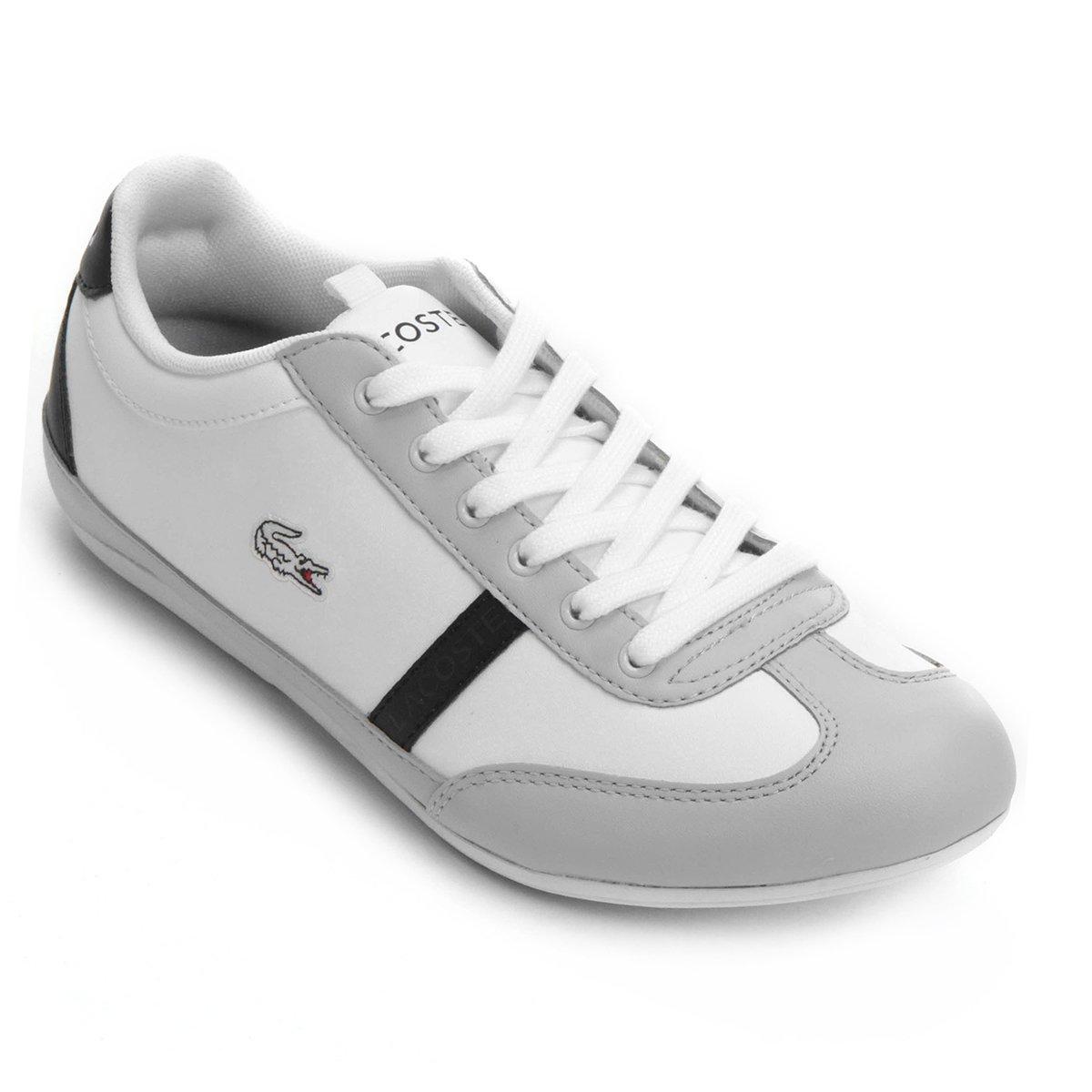 ... ccbc6999b08 Tênis Lacoste Misano Sport Scy Infantil - Compre Agora  Netshoes ... cfef1dd08d