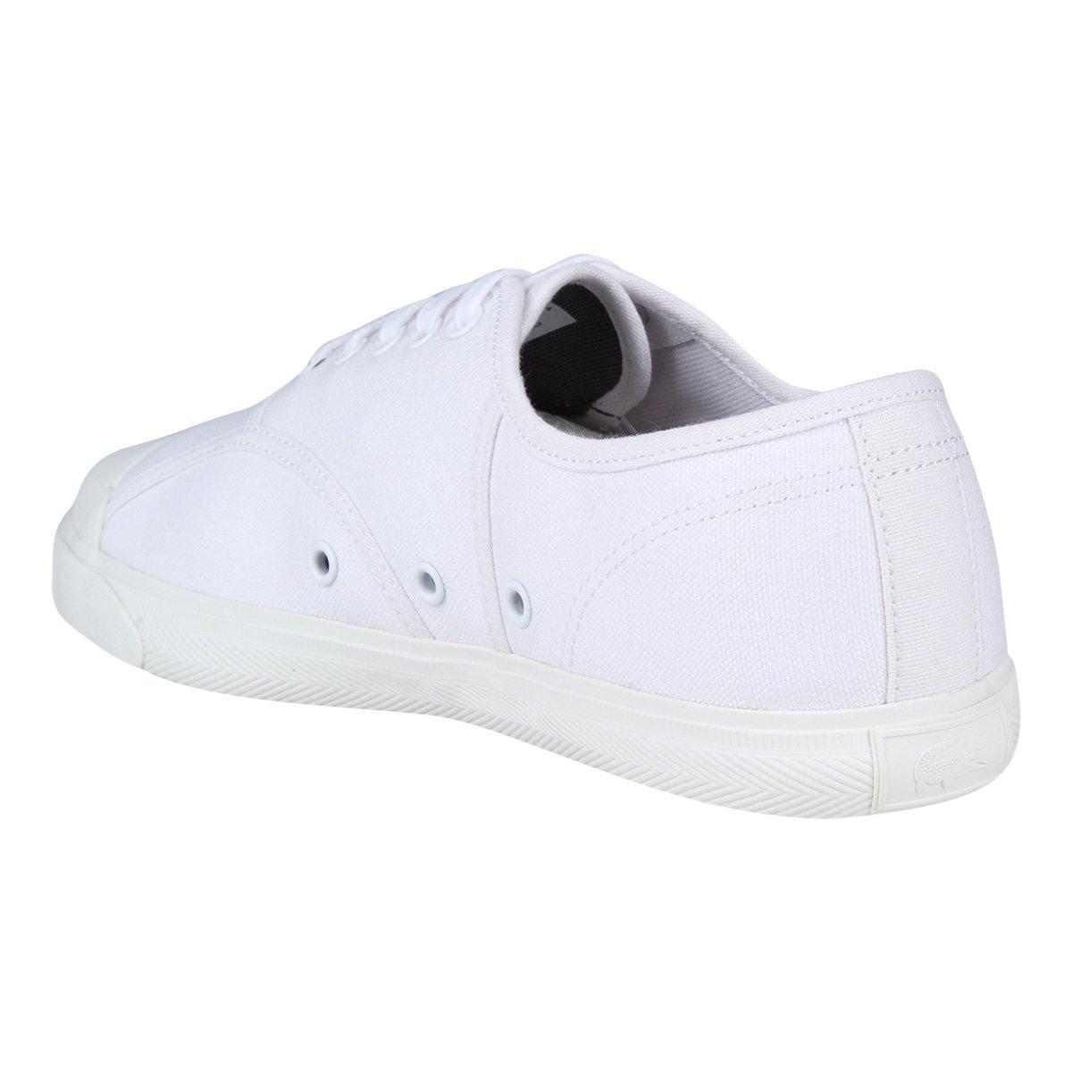 Tênis Lacoste René Feminino - Branco - Compre Agora   Netshoes 70294ce8cd