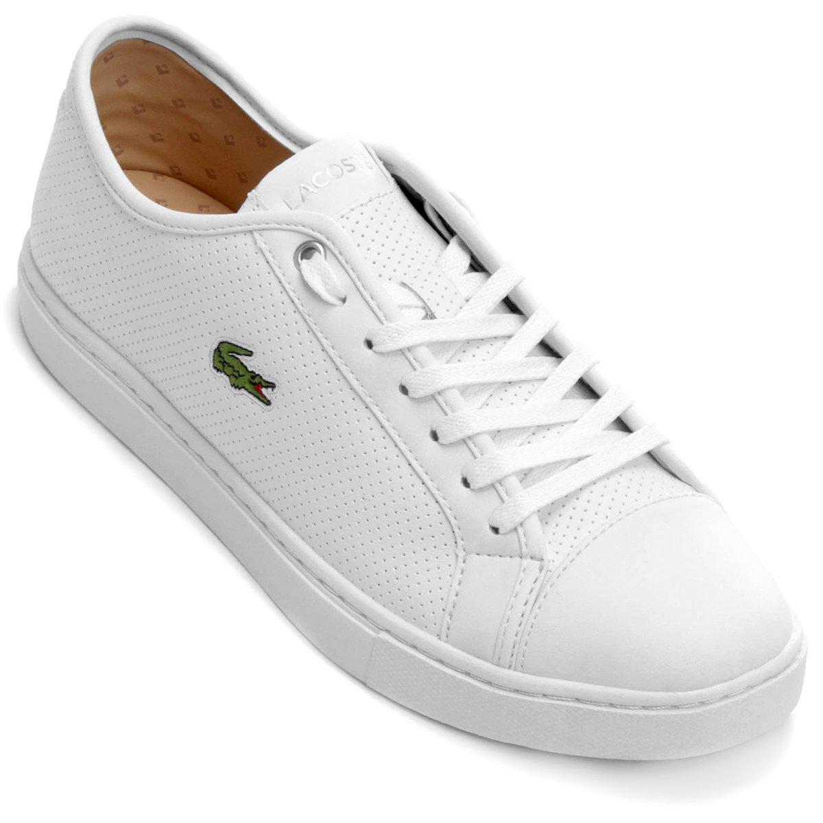 Tênis Lacoste Showcourt Piq3 - Compre Agora   Netshoes f0c1a17318