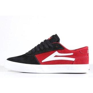 Tênis Lakai - Manchester Red/Black/White