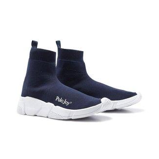 Tênis Meia Polo Joy Masculino Leve Confortável Socks Casual