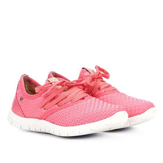 Tênis Mississipi Jogging Malha Feminino - Rosa
