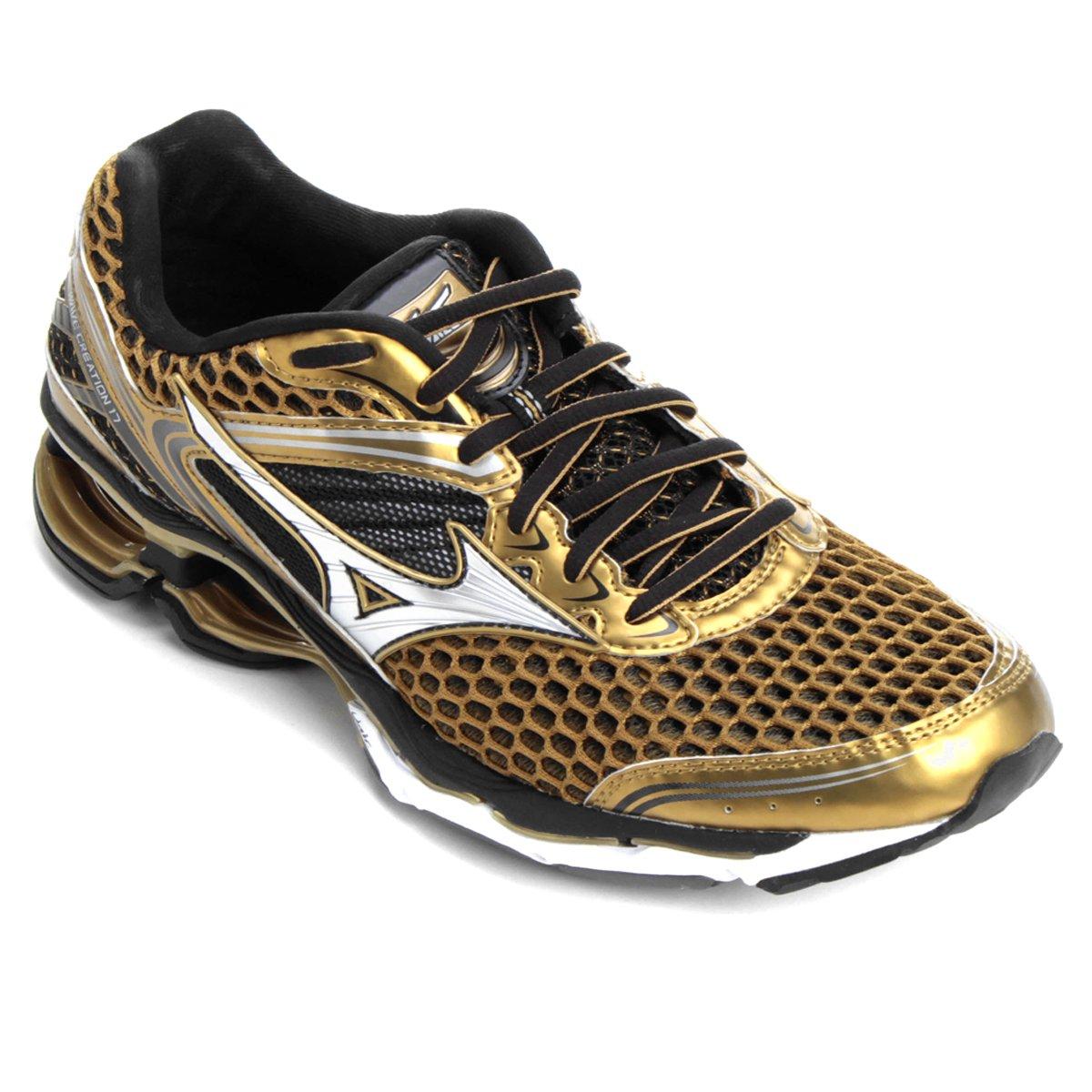 e23f95b8d8 Tênis Mizuno Wave Creation 17 Golden Runners - Compre Agora