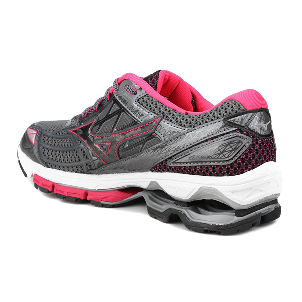 Grafite Mizuno Tênis Wave Creation Feminino 19 Feminino e 19 Wave Creation Grafite Rosa Tênis Mizuno pwAq7tgFW