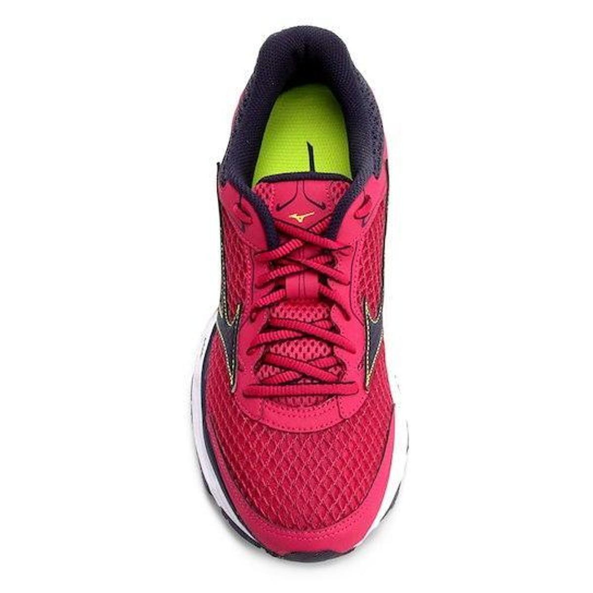 Tênis Mizuno Wave Frontier 11 Feminino - Rosa - Compre Agora Netshoes  a54bae03f149bb ... b0378f6381fc0