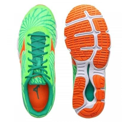 tenis mizuno masculino preto e laranja recheados