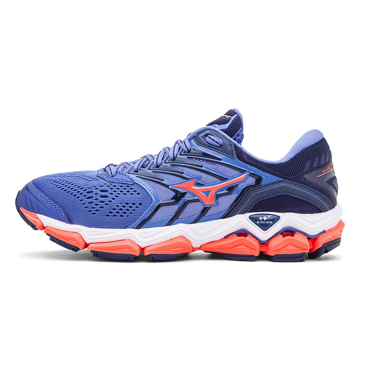 Tênis Mizuno Wave Horizon 2 Feminino - Azul e Rosa - Compre Agora ... 33a03c386630a