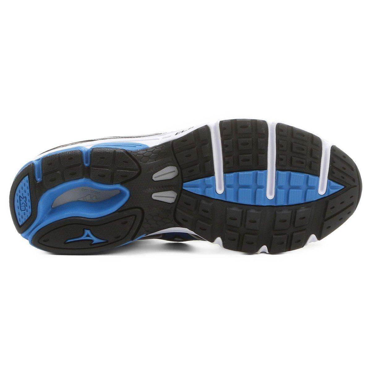 Tênis Mizuno Wave Impetus 4 - Grafite Azul - 38 - Compre Agora ... 618bde45df974