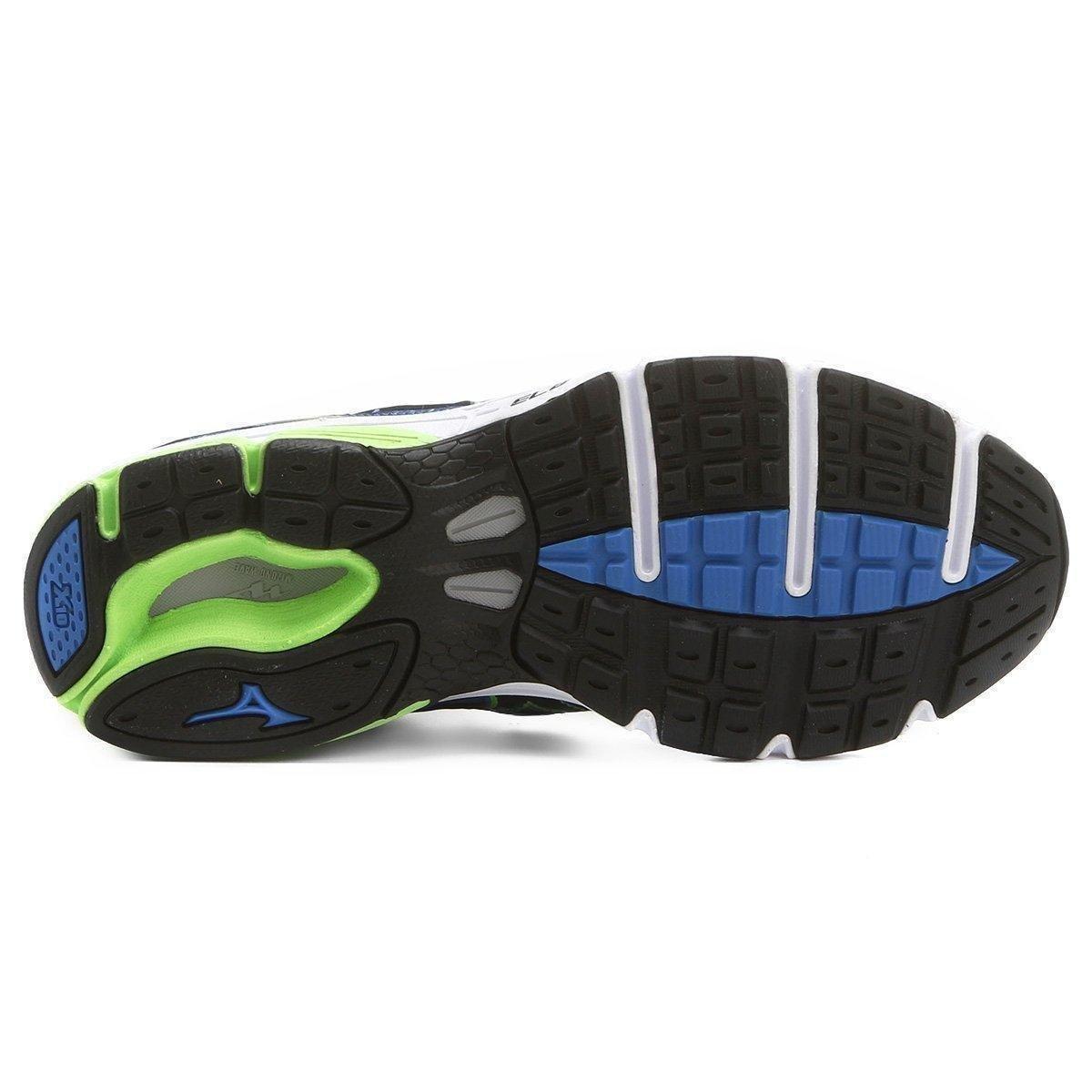 Tênis 4 Azul e Mizuno Masculino Impetus Wave Mizuno Verde Tênis rxrO08X