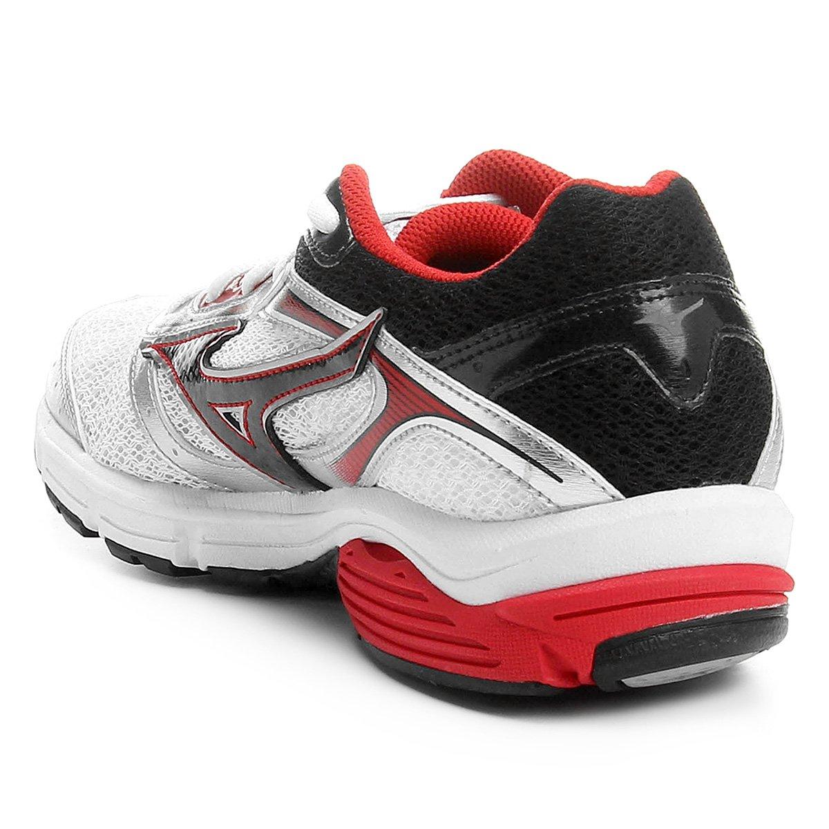Tênis Mizuno Wave Impetus 4 Masculino - Branco e Vermelho - Compre ... 21bd9017d4b33