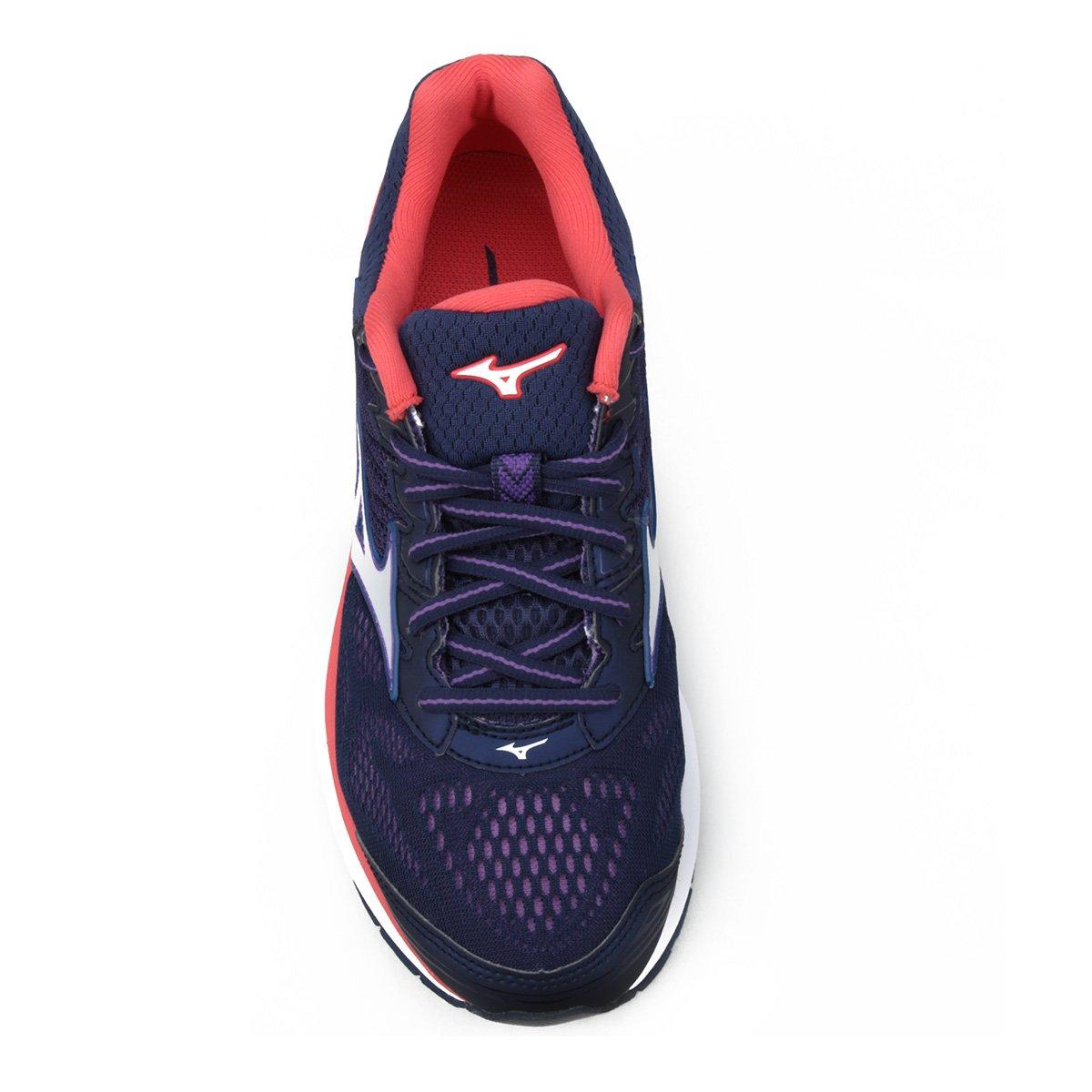Tênis Mizuno Wave Prorunner 21 Feminino - Azul e Rosa - Compre Agora ... 058d7e8a1f332