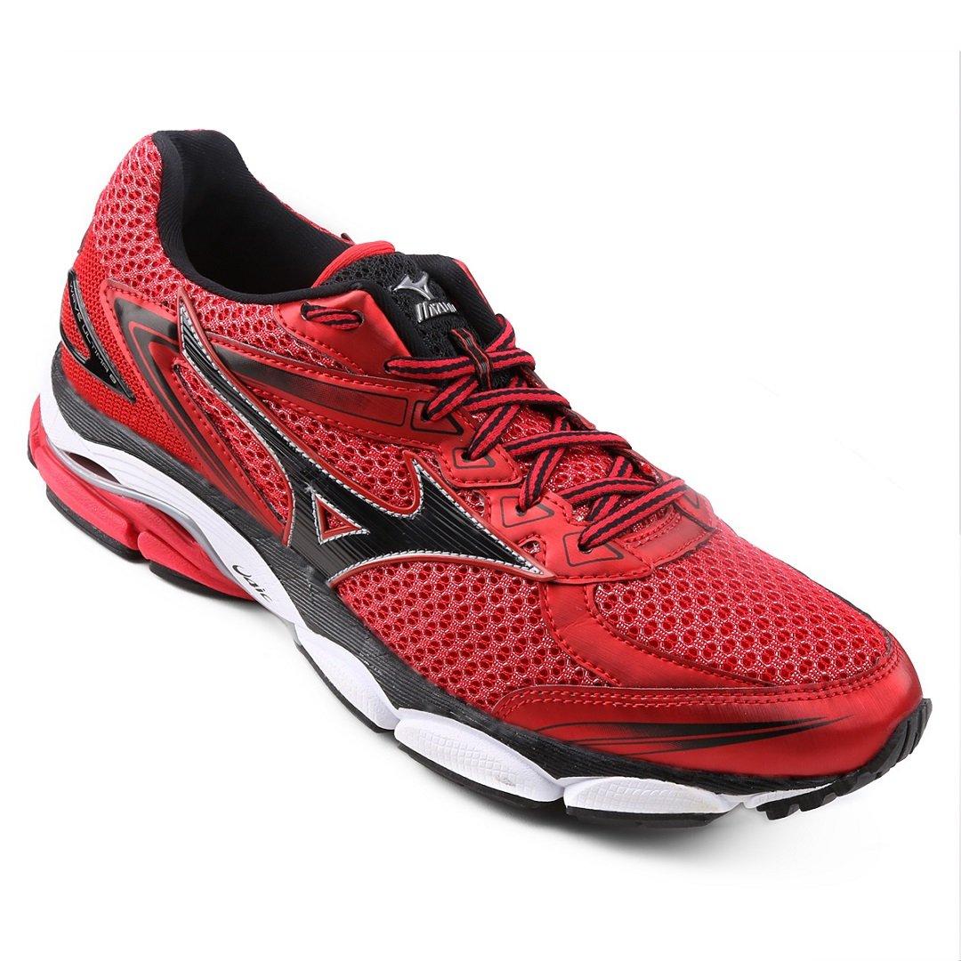 di modo attraente super speciali nuovo prodotto Tênis Mizuno Wave Última 12 - Vermelho e Preto