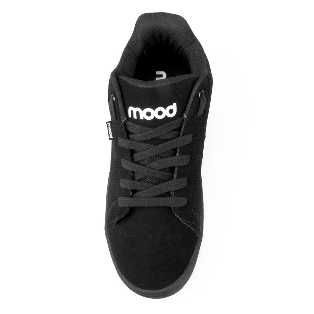 Masculino Mood Tênis Tênis Mood Base Preto a7qp6v