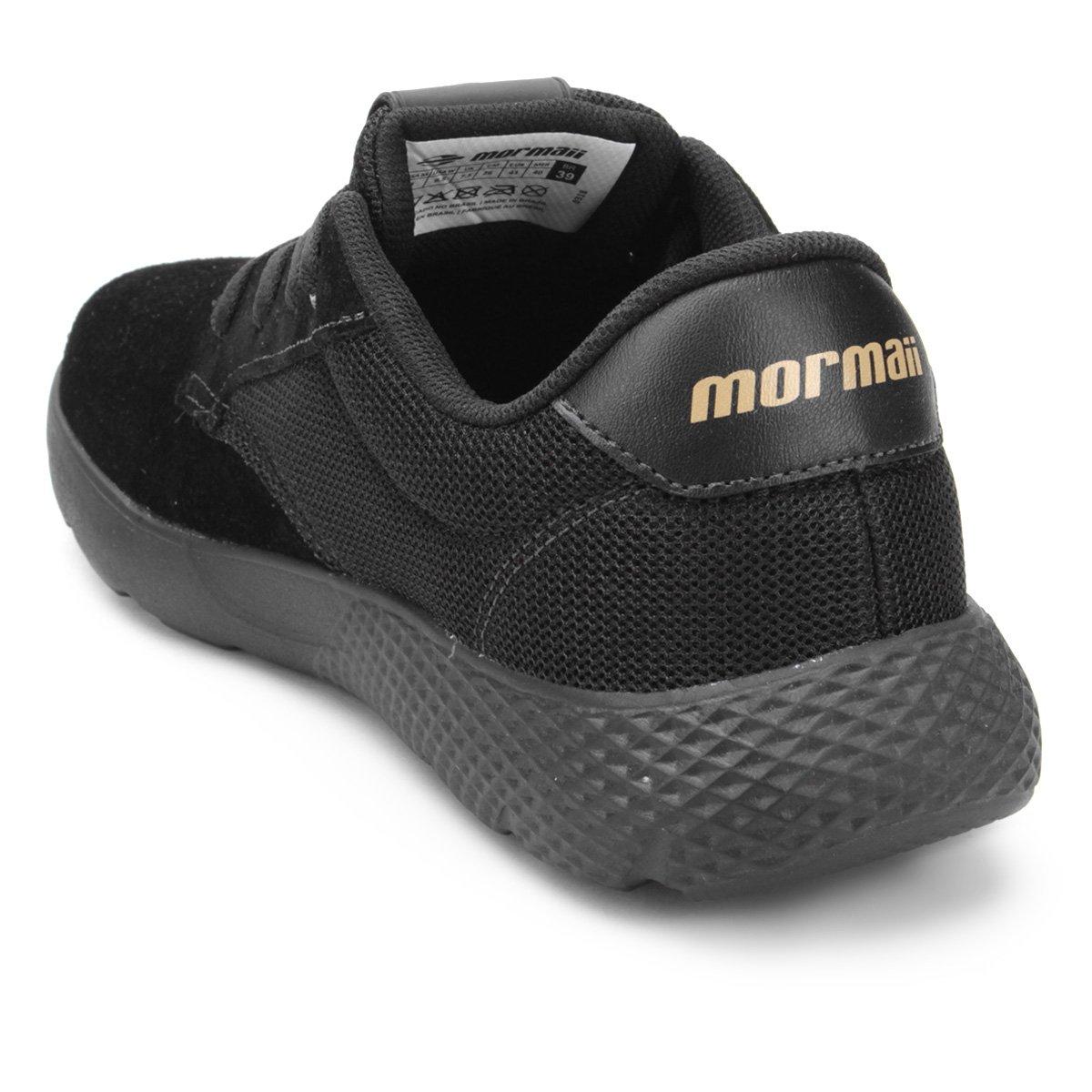 42de8d59d30e4 Tênis Mormaii Light Masculino - Preto e Cinza - Compre Agora   Netshoes