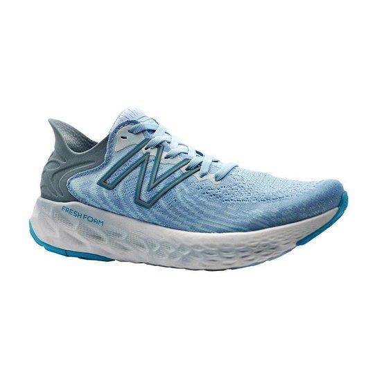 Tenis New Balance 1080 V11 - Azul+Cinza