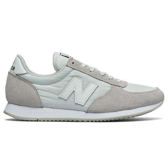 Tênis New Balance 220 Feminino - Branco+Cinza