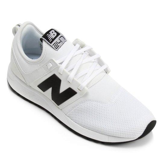 Tênis New Balance 247 Classic Masculino - Branco+Preto