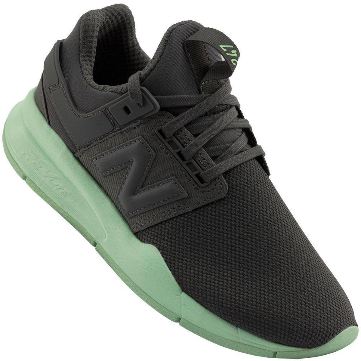 Tênis New Balance 247 Feminino - Cinza Verde | Netshoes
