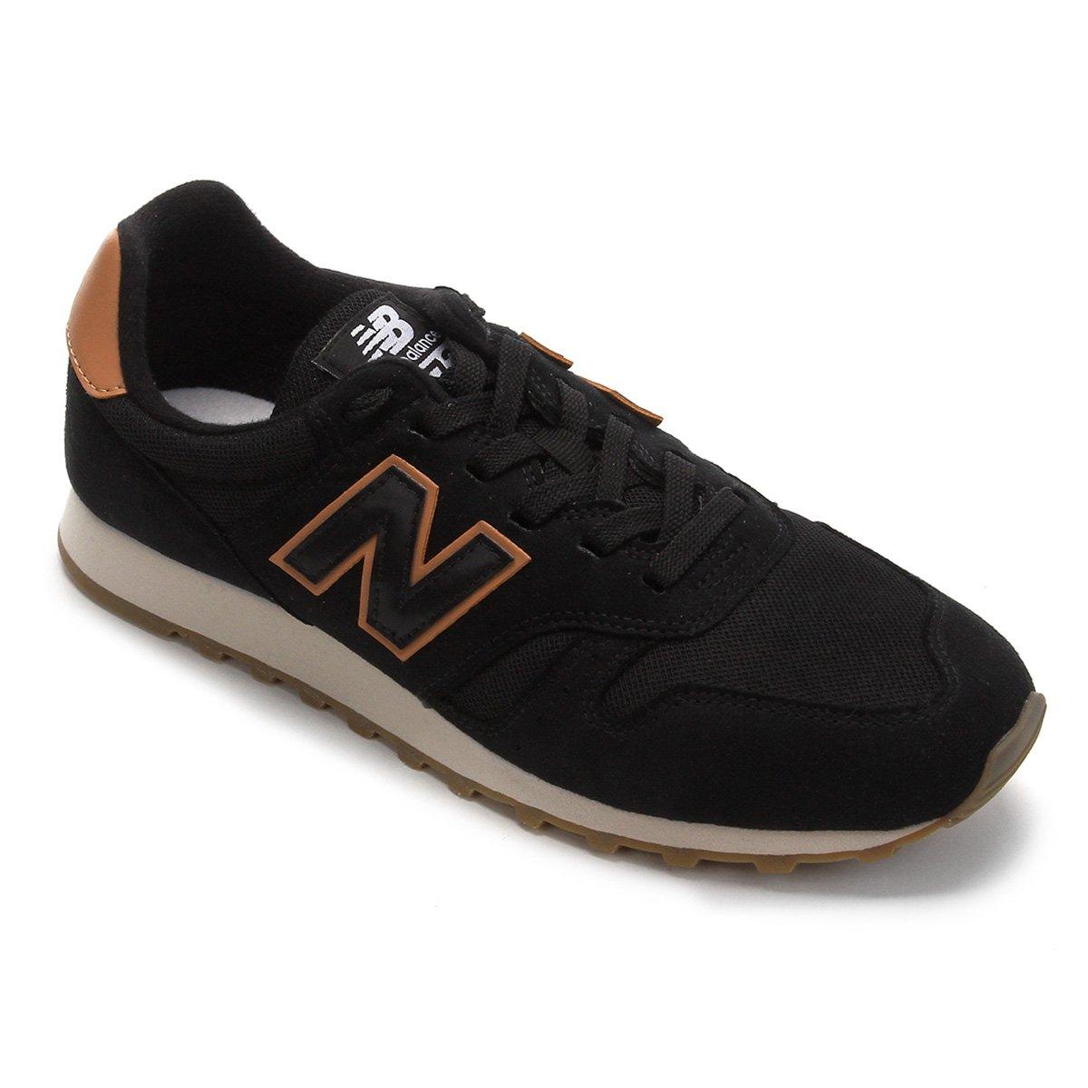 Anuncio fusión Querer  Tênis New Balance 373 Core Masculino - Preto e Caramelo | Netshoes