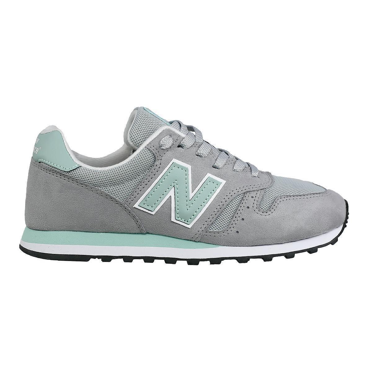 Tênis New Balance 373 Feminino - Cinza e Verde - Cinza Verde ...
