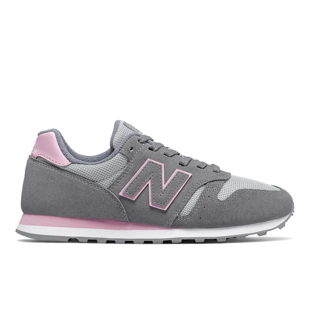 new balance cinza e rosa feminino